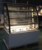 Quatro Prateleiras com Base em aço inoxidável Mostruário de bolo sobremesa frigorífico (KT730A-S2)