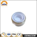 Kundenspezifische kosmetische Haustier-Flasche mit Überwurfmutter für Haut-Sorgfalt