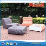 ホテルのためのファブリックによって装飾される速い乾燥した泡のソファーの屋外の家具
