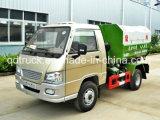 FAW 3CBM do braço do gancho de resíduos do tipo de veículo em veículo de transferência de resíduos