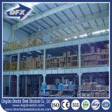 Armazém grande Prefab estrutural fabricado aço da construção de edifício