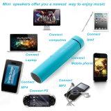 Mini côté de pouvoir du Portable 2800mAh avec le haut-parleur de Bluetooth