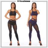 Las mejores mujeres de la calidad usan los pantalones del yoga de la sequedad rápida