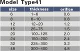Vorbildlicher Typ 41 Cigweld Ausschnitt-Spitze-Düsen-Spitze