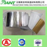 Alta cinta de tres vías adhesiva de Kraft del lienzo ligero de la hoja de plata