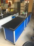 Laborexperiment-Prüftisch-Schreibtisch-Labormöbel-Gerät