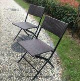 حديقة أثاث لازم يطوي [رتّن] كرسي تثبيت