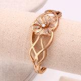 50895 Goldblumen-Art-Schmucksache-Frauen-Armband der Form-18k