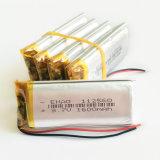 3.7V 1600mAh 112560pl Lithium-Plastik-nachladbare Batterie
