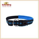 Collares de perro de nylon cómodos/reflexivos con el acolchado (KC0093)