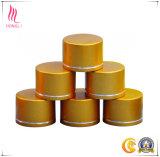 Protezioni dell'alluminio della bottiglia metallizzate oro con tappo a vite su ordinazione del metallo di marchio