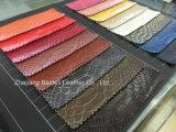 Crocodile Impression PVC en cuir synthétique pour sacs / Canapé / Meuble Upholstery