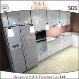 N&L moderner hoher Glanz-Lack-Küche-Schrank