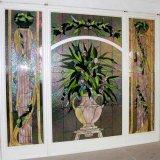 Het Venster van het Glas van de Vlek van het Ontwerp van het Patroon van het Gebrandschilderd glas van de Stijl van de Kunst van Europa