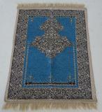 Stuoia di preghiera del jacquard del Chenille di uso del Hajji di La Mecca