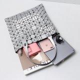 매트 은 기하학적인 패턴 PU 핸드백 (A0119)