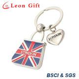 Индивидуального дизайна мягкой эмали Лондон цепочке для ключей для подарков