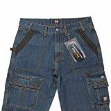 Los hombres de alta calidad de la ropa de trabajo al por mayor pantalones de mezclilla (MY-012)