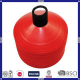 Plastique Red Cheap Custom Logo Soccer Training Disc Cones