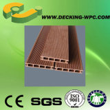 Matériau recyclé bon marché Éclairage imperméable WPC Decking Floor