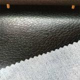 PVC Hw-1437 en cuir de meubles de sofa de qualité