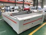 Placa de cobertura de impressão offset Máquina de corte CNC Cutter Máquina de traçador de corte de faca de oscilação de tecido de couro digital