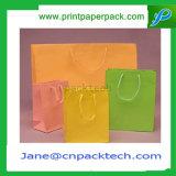 Custom упаковка подарочный пакет сумки перевозчика крафт-бумаги или сумку с FSC