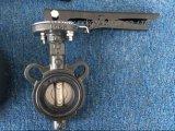 JIS5k/10k dk digitano il ghisa della maniglia/valvola a farfalla fusa della cialda acciaio inossidabile duttile/(D71X-DK)