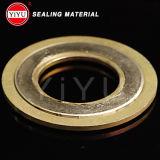 304 anillo externo, Ss304 anillo interno, Ss304 soldadura, llenador del grafito, junta espiral de la herida con el certificado ISO9001: 2008