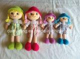 Plüsch-weiche Lappen-Puppen (Mädchen)