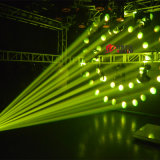 260W A Todo Color 4en1 10r moviendo la cabeza de iluminación de la etapa de la Luz