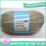 Hight Qualität gefärbte Strickjacke, die reines Wolle-Garn spinnt