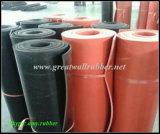 Rivestimento di gomma resistente dell'abrasione, rivestimento di gomma di resistenza all'usura