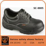 Chaussures de sécurité à talon en acier résistant à l'homme à double densité Guangzhou (SC-8805)