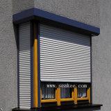 Profil personnalisé d'aluminium de porte d'obturateur de roulement de rouleau