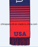 De hete Geweven Lange Schrijver uit de klassieke oudheid van Amerika van de Ventilator van het Voetbal breit Sjaal