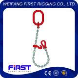 Одну ногу легированная сталь цепной строп для подъема
