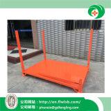Soporte plegable de metal para almacenamiento de mercancías con Ce (FL-63)