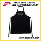 100% poliéster/algodón OEM personalizados promocionales impresos Babero delantal de cocina