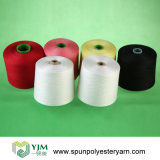 20/2 30/2 40/2 50/2 60/2 Teinture de fil / Polyester Spun Dyed Yarn for Sewing Thread