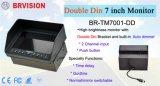 "2 CH Double DIN 7 ""Heavy Duty Monitor (BR-TM7001-DD)"