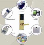 Aço inoxidável chave magnética fechadura da porta de segurança electrónica