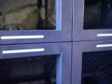 Cabina de clasificación de aluminio para el uso especial