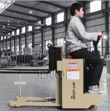 China 1t rit-op Volledige Elektrische Stapelaar