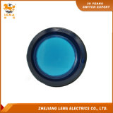 IP40保護レベル青いLEDのプラスチック33mm押しボタンスイッチPbs-003