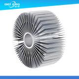 Штрангя-прессовани теплоотвода C.P.U. точности части изготовленный на заказ алюминиевого запасные Donguan Фабрикой