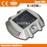 Plastic 6 Flash LED Solar Estrada Refletor