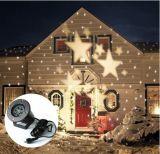 星の移動パターンが付いているホーム装飾のための工場供給のABSハウジングLEDのクリスマスの投射ライト