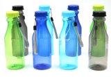 Garrafa de água plástica da bebida do OEM com corda para a promoção
