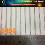 Forro de luva branca para terno / vestuário, tecido de poliéster (S84.92)